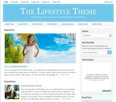 Lifestyle theme