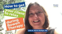 How to get your patient to relax during certain protocols in Bowen Therapy College Website, Curriculum, You Got This, Therapy, Relax, Healing, How To Get, Social Media, Education