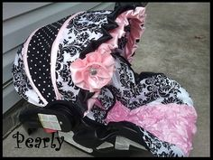 Hey, I found this really awesome Etsy listing at https://www.etsy.com/listing/150456352/custom-boutique-infant-car-seat-cover
