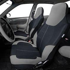 Neoprene Highback Front Bucket Seat Covers for Car SUV Van Red Black Dodge Accessories, Bucket Seat Covers, Truck Interior, Motor Parts, Concept Cars, Vintage Cars, Car Seats, Van, Vans