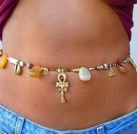 waist beads African Jewelry, Tribal Jewelry, Beaded Jewelry, Handmade Jewelry, Beaded Bracelets, Jewellery, Waist Jewelry, Body Chain Jewelry, Waist Beads African