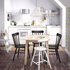 IKEA, #Tisch #NORRÅKER #Stuhl #NORRARYD