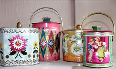 tea cannisters