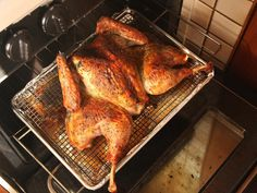 So you've seen our spatchcock turkey and you're intrigued by the promise of extra-crisp skin and ultra-moist meat, all in about 90 minutes...but you want it to pack just a little more punch. This version's got all of the same crisp skin and juicy meat as the original recipe, but with a flavor-packed herb butter to coat it. #thanksgiving #turkey