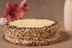 Krantz cake as in the confectionery - Culinary recipes - Romanian and .- Tort krantz ca la cofetărie – Retete culinare – Romanesti si din Bucataria inte… Krantz cake as in the confectionery – Culinary recipes – Romanian and international cuisine - Moka, Torta Ferrero Rocher, Krantz Cake, Dessert Drinks, Desserts, Russian Cakes, Cheesecake, Torte Cake, Star Cakes
