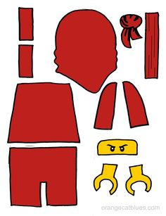 Lego Ninjago Printable Cutout for Toddler Adhesive Art: The Black Nin . - Lego Ninjago Printable Cutout for Toddler Adhesive Art: The Black Nin … Best Picture For diy hom - Ninjago Kai, Ninjago Party, Ninjago 2017, Ninja Birthday Parties, Boy Birthday, Birthday Ideas, Theme Star Wars, Ninjago Cakes, Diy For Kids