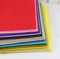 40colors 15cm*15cm felt fabric, polyester, non-woven felt, handmade fabric 40pcs/lot 14010415(15*15HS40)