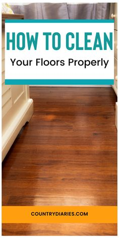 Household Cleaning Tips, Cleaning Recipes, House Cleaning Tips, Diy Cleaning Products, Cleaning Solutions, Spring Cleaning, Cleaning Hacks, Cleaning Wood Floors, Clean Hardwood Floors