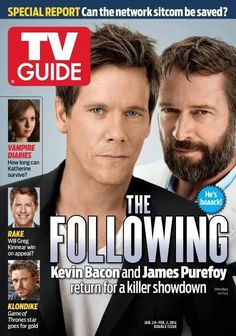 Kevin Bacon The Following Kevin Bacon The Following James Purefoy Image Film
