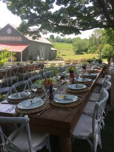 Hudson Valley NY - Farm Table Hudson Valley, Table Settings, Party, Table Top Decorations, Place Settings, Receptions, Direct Sales Party, Dinner Table Settings, Table Arrangements