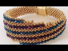 Beaded Bracelets Tutorial, Necklace Tutorial, Beaded Bracelet Patterns, Handmade Bracelets, Beaded Earrings, Macrame Tutorial, Seed Bead Bracelets Tutorials, Macrame Patterns, Beaded Bracelets