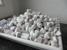 Edible Clay, Gypsum, Plaster