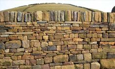 Dry stone walling contractors from Huddersfield West Yorkshire Stone Retaining Wall, Retaining Walls, Wood Pizza, Sandstone Wall, Beautiful Homes, House Beautiful, Building Contractors, Coastal Gardens, Redford House