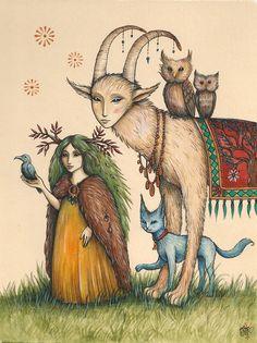 """Strange Journey..."" par Nadia Turner"