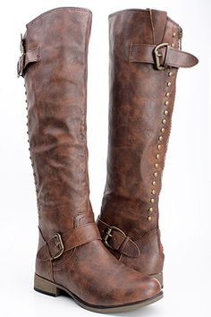 Leather Brown Boots Women - Boot Hto