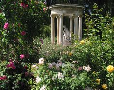 The Rose Garden at Huntington Gardens, California -- one of many gardens.   http://www.gardenclub.org