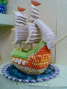 Amazing!!! 3D origami