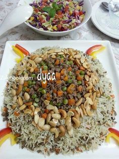 The most successful way to work on its assets and ouzi with all his secrets Middle East Food, Middle Eastern Recipes, Arabian Food, Egyptian Food, Ramadan Recipes, Lebanese Recipes, Cooking Recipes, Healthy Recipes, Mediterranean Recipes