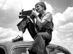 Dorothea Lange by Paul S. Taylor, 1934
