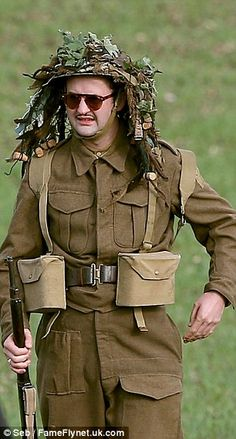 'Dad's Army' Film: First Look! Michael Gambon And 'The Inbetweeners' Star Blake Harrison Spotted On Set (PICS) Daniel Mays (FameFlynet) The Inbetweeners, Are You Being Served, Dad's Army, Michael Gambon, Home Guard, Catherine Zeta Jones, Universal Pictures, On Set, Comedy