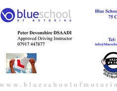 "Check out new work on my @Behance portfolio: ""Blue School of Motoring Business Card"" http://on.be.net/1KKacFa"