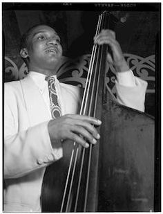 """Photo of Alvin """"Junior"""" Raglin . On October 6 or 7,1942, at NBC Radio City, Hollywood, Ca. Alvin """"Junior"""" Raglin was a part of the orchestra that performed with Duke Ellington on Jubilee - GMA AFRS-632"""