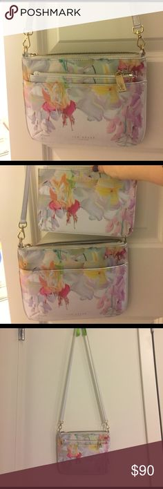 Ted baker crossbody bag Enough for phone, key and wallet~ cute flower suitable for summer and spring😍😍in good quality Ted Baker London Bags Crossbody Bags