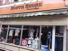 Le surf shop North Shore Casual le ride à Trouville