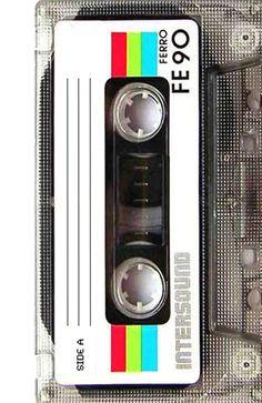 Old School Cassette Tape Art Print by Rex Lambo Music Wallpaper, Cool Wallpaper, Apple Logo Wallpaper Iphone, Iphone Wallpapers, Cassette Tape Art, Arte Pop, Retro Futurism, Wall Collage, Vintage Ads