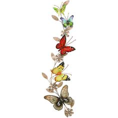 Benzara Metal Butterfly Wall Decoration ($46) ❤ liked on Polyvore featuring home, home decor, wall art, butterflies, red, butterfly wall art, spring home decor, garden wall art, vertical wall art y red metal wall art