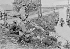 fallschirmjager in holland 1940 - pin by Paolo Marzioli
