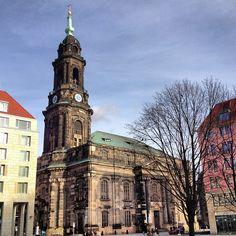 Kreuzkirche in Dresden, Sachsen