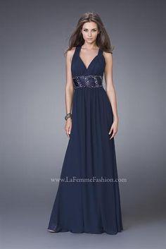 La Femme Dress 15064 at Peaches Boutique