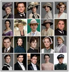 Downton Abbey season 1 ~ remember the good ol' days when everyone was still alive and you actually thought things would end happily?