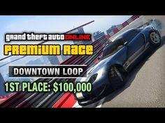 awesome GTA Online - Premium Race #15 - Downtown Loop (Cunning Stunts)