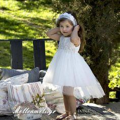 """Dolce Bambini - Βαπτιστικό Φόρεμα """"Rafaela"""", κωδ. 460-1 Girls Dresses, Flower Girl Dresses, Wedding Dresses, Kids, Fashion, Dresses Of Girls, Bride Dresses, Young Children, Moda"""