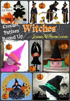 Round-Up-Witches Crochet Patterns