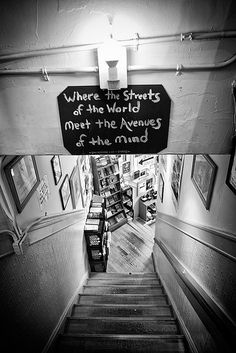 Inside the City Lights Bookstore, SF By Beto Ruiz Alonso: Where the streets of the world meet the avenues of the mind.