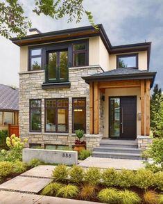 Nice 40+ Amazing Natural Stone Exterior Backyards Inspirations