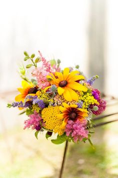 Creative Muse Bouquet Black Eyed Susans