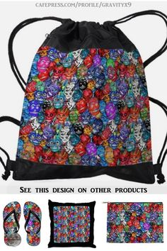 * Calaveras Pequeñas Drawstring Backpack by #Gravityx9 at Cafepress * This design is available on several products. * back to school supplies high school * back to school supplies * back to school shopping * backpacks for school * High school shopping list * school supplies * school supplies high school * backpack for adults * backpacks for boys * sugar skulls ideas * dia de los muertos * day of the dead * #backtoschool #schoolbags #schoolshopping #backpacks #diadelosmuertos #calaveras 0720 Back To School Backpacks, Boys Backpacks, Back To School Shopping, High School, Flag Art, Back To School Supplies, Sugar Skulls, New Pins, School Bags
