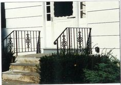 Decorative Wrought Iron Handrails