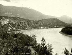 Glenora, Stikine River, Tahltan Territory, 1874. Photo: British Columbia Archives British Columbia, Larger, Strong, River, Mountains, Future, Places, Projects, Outdoor