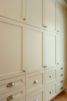 Love The Style Of This Wall Of Cabinets   Simple, Traditional