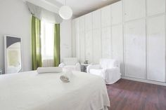 Airbnb Rome, Italy. $96 USD per night - Entire apartment. Close to San Pietro Square. Sunny, spacious 4-5 person apartment: a large double bedroom and a large living room with large double bed, bathroom with shower, kitchen and terrace. It is located on the second floor, surrounded by greenery,