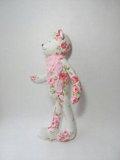 Fabric Doll Bear Decoration doll Tilda bear tilda doll