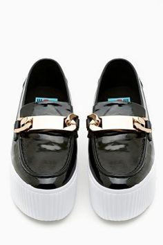 Luis Chain Loafer by #JeffreyCampbell