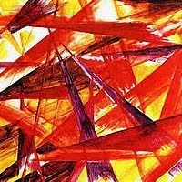 Rayonism, Luchism, Russian Abstract Art Movement