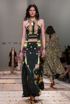 Veronica Etro presents her spring 2017 collection.