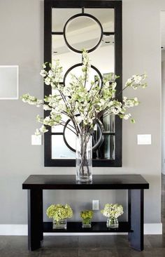 Entryway Table Decor Inspiration – Lydi Out Loud